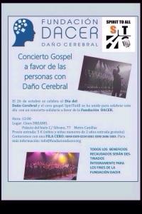 Cartel concierto Gospel
